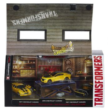 Transformers Bumblebee Evolution 3-Pack (U.S. STORE Exclusive)